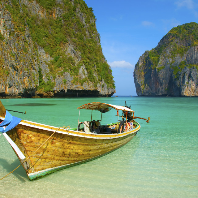 """PhiPhi island, Thailand"" stock image"