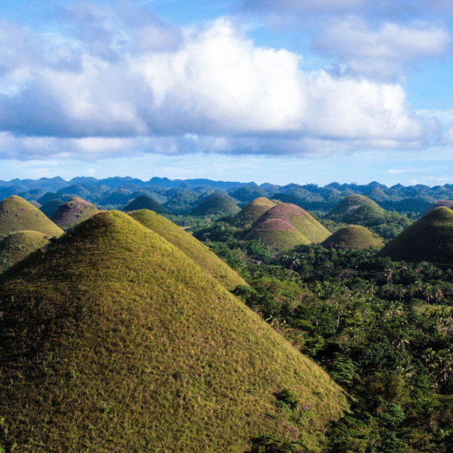 """Chocolate Hills, Bohol"" stock image"