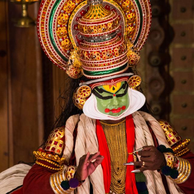 """Kathakali Performance"" stock image"