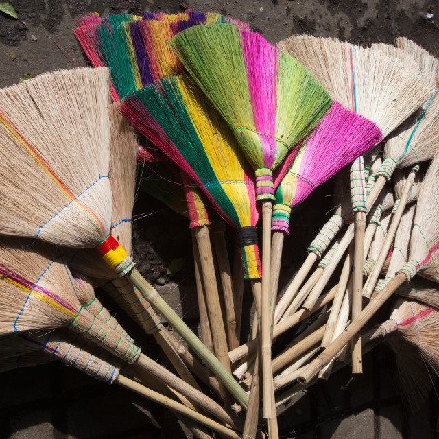 """Brooms"" stock image"