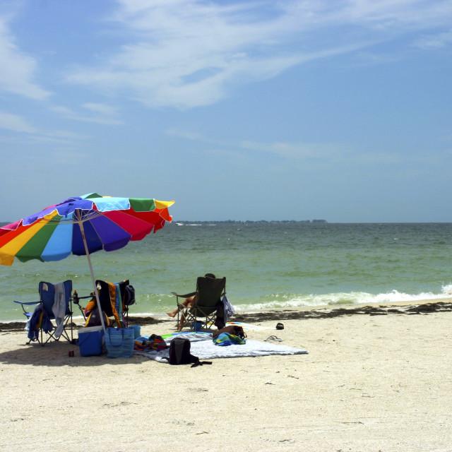 """Fort De Soto Beach"" stock image"