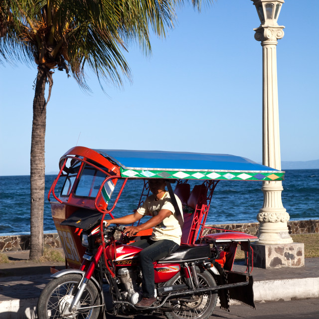 """Philippines Tricycle"" stock image"