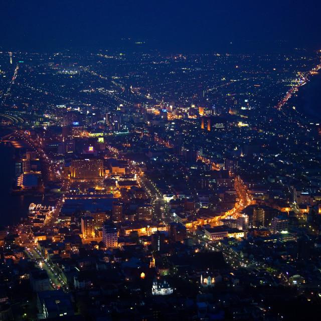 """Hakodate Night View"" stock image"