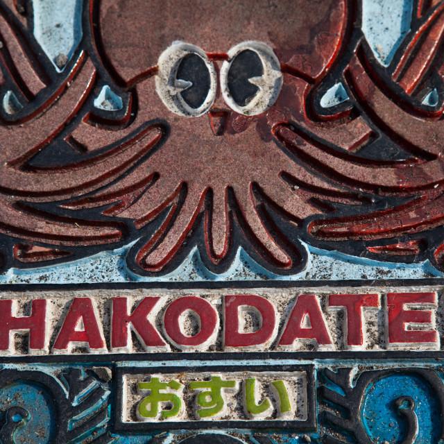 """Hakodate Sign"" stock image"