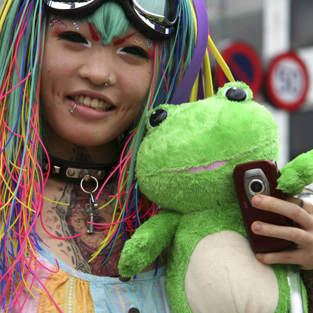 """Costume Play Harajuku"" stock image"