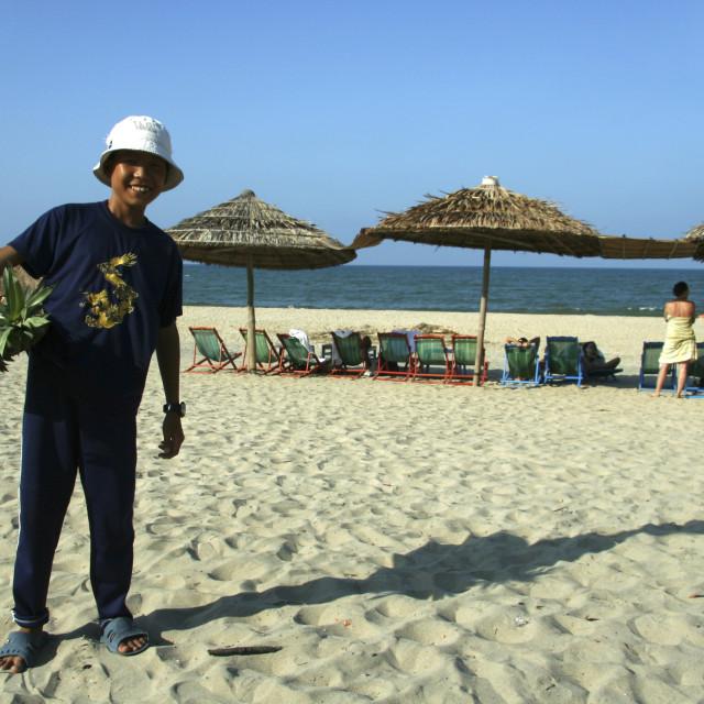 """""""Cua Dai Beach, Hoi An"""" stock image"""