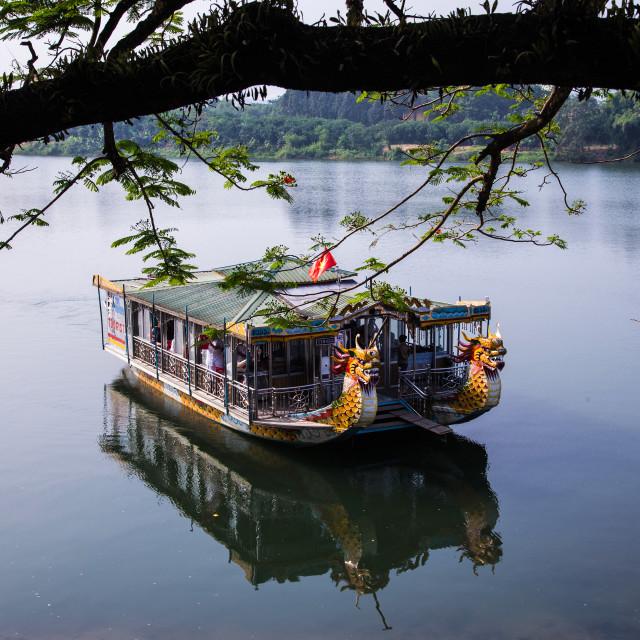 """""""Hue Dragon Boat"""" stock image"""