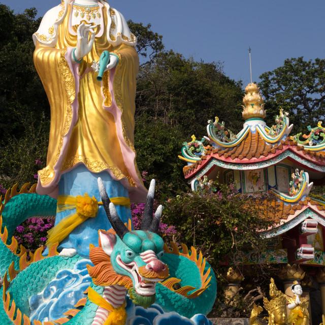 """Guanyin, Goddess of Mercy"" stock image"