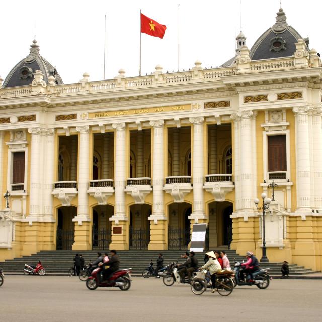 """Hanoi Opera House"" stock image"