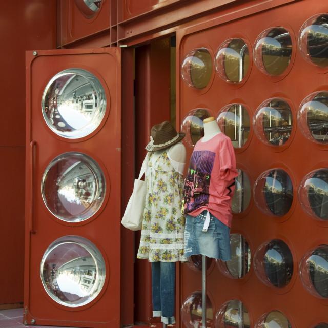 """""""Fashion Boutique Harajuku, Tokyo"""" stock image"""