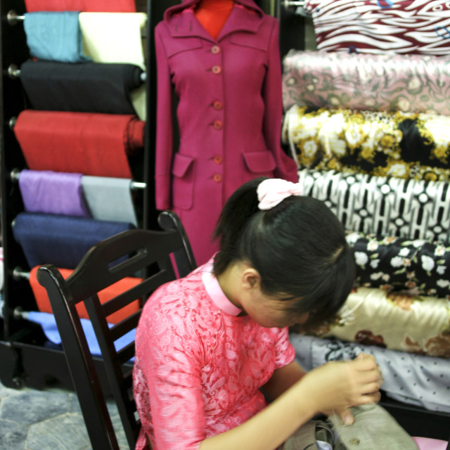 """""""Hoi An Tailoring"""" stock image"""