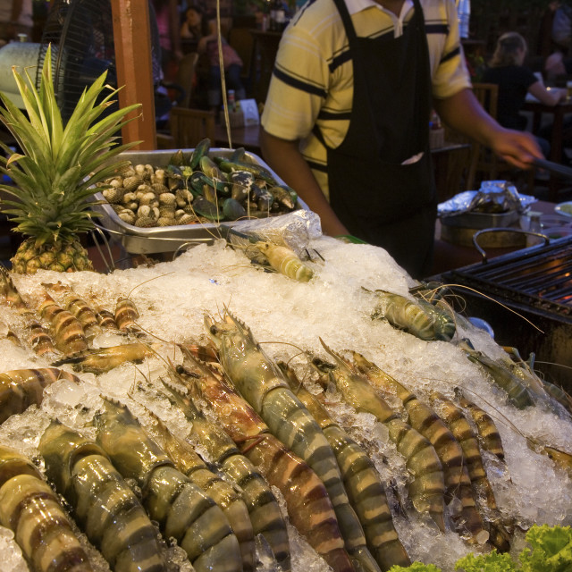 """Hua Hin Night Market"" stock image"