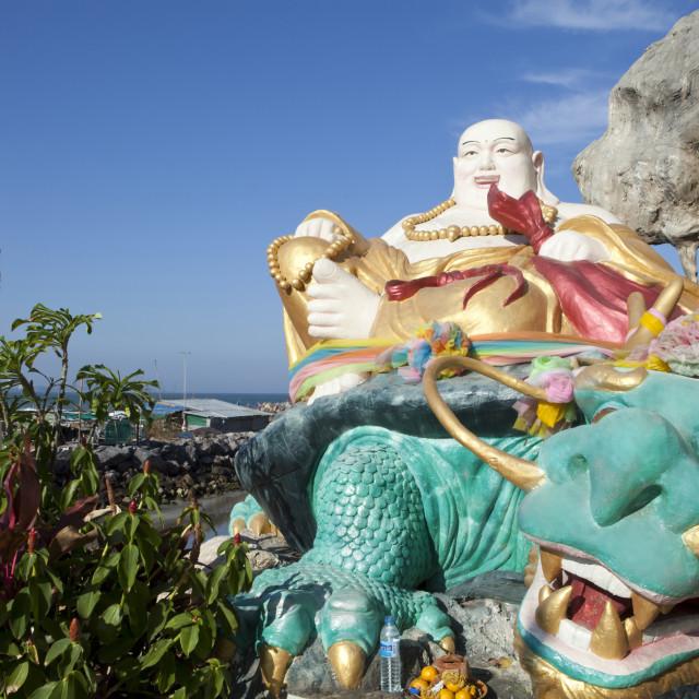 """Wat Tham Khao Tao"" stock image"