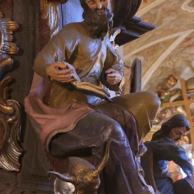 """""""Saint Luke the Evangelist"""" stock image"""