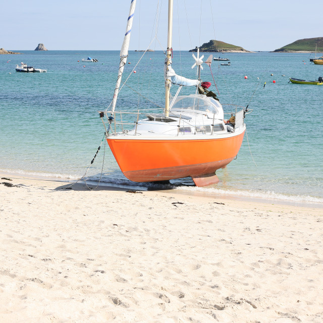 """Isles Of Scilly"" stock image"