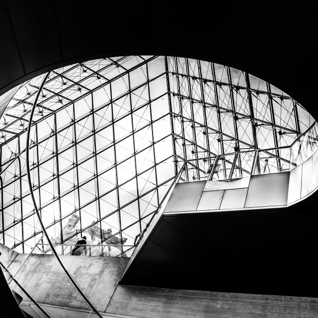 """stairs louvre"" stock image"