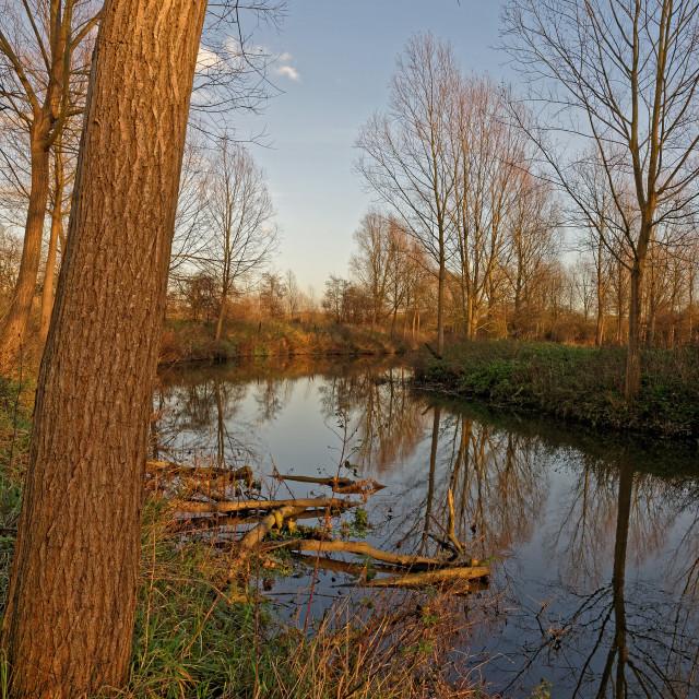 """Winter River"" stock image"