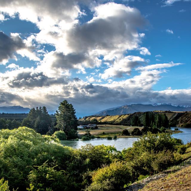 """Lake Wanaka"" stock image"