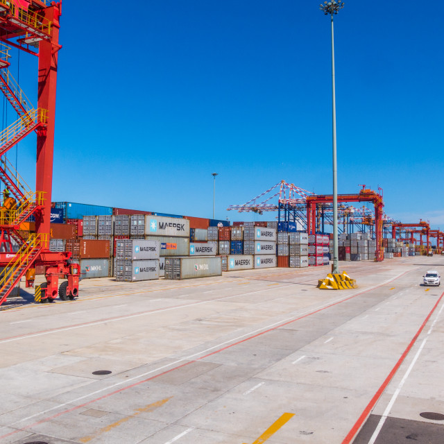 """Container depot"" stock image"