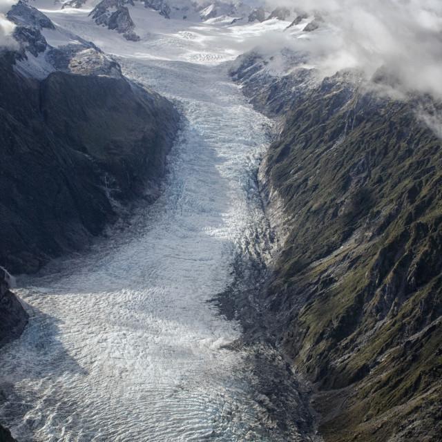 """""""Icy glacier"""" stock image"""