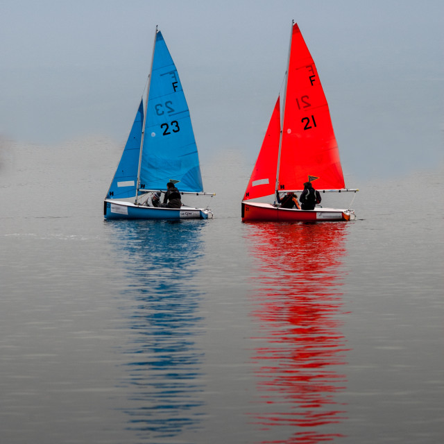"""Sailing Boats"" stock image"