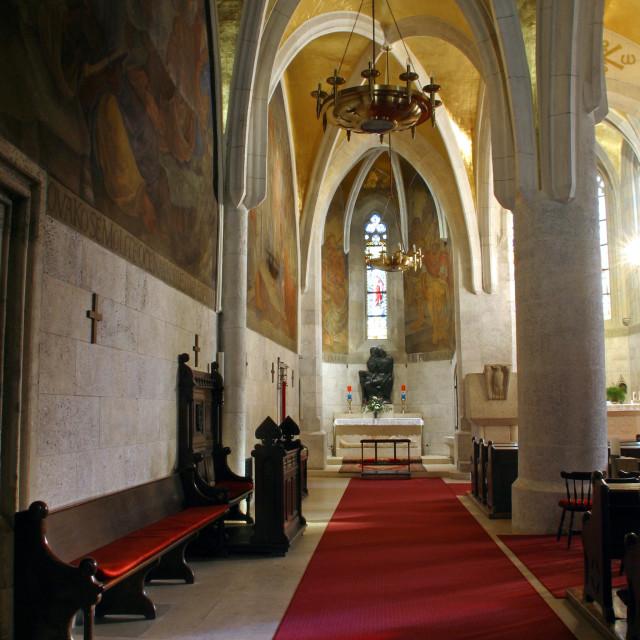 """""""Zagreb - St. Mark's Church"""" stock image"""