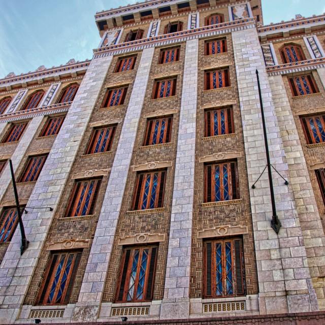 """Bacardi building"" stock image"