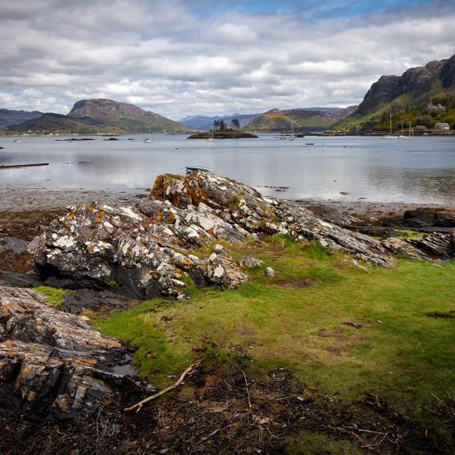 """""""Scottish Highlands."""" stock image"""