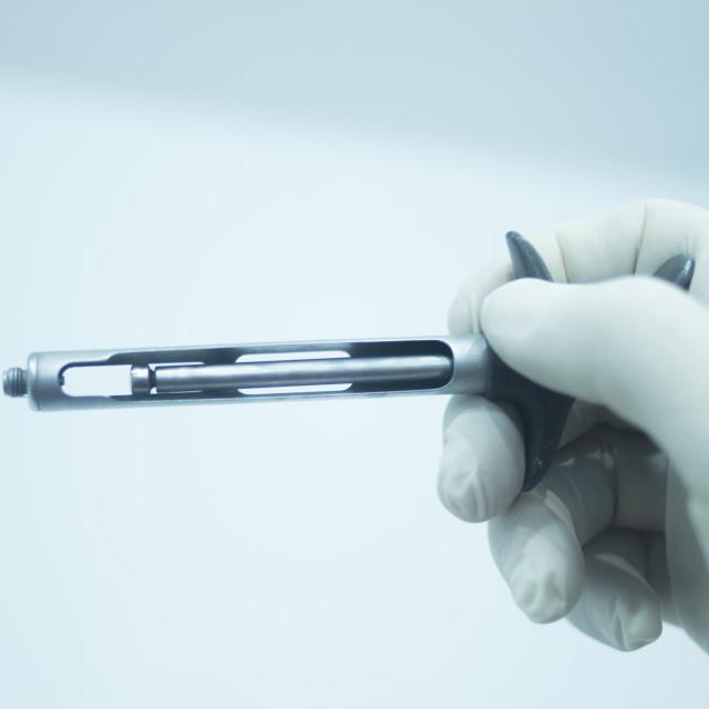 """""""Dental equipment dentist anaesthetic gun"""" stock image"""