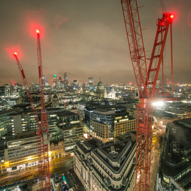 """London Cityscape"" stock image"
