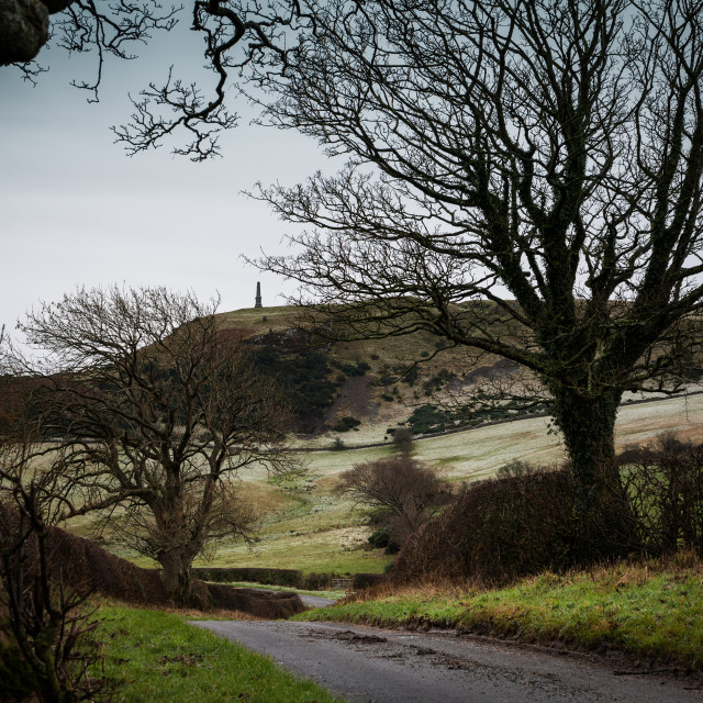 """Kildoon Hill, Maybole, Ayrshire"" stock image"