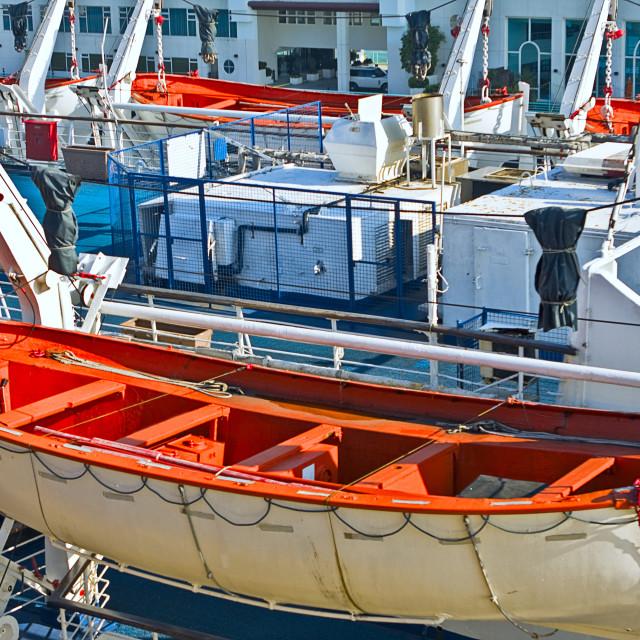"""rescue boat"" stock image"