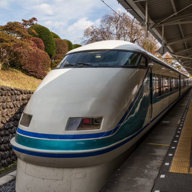 """Tobu Railway Spacia"" stock image"