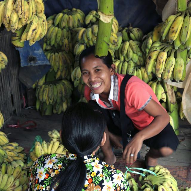 """Siem Reap Market"" stock image"