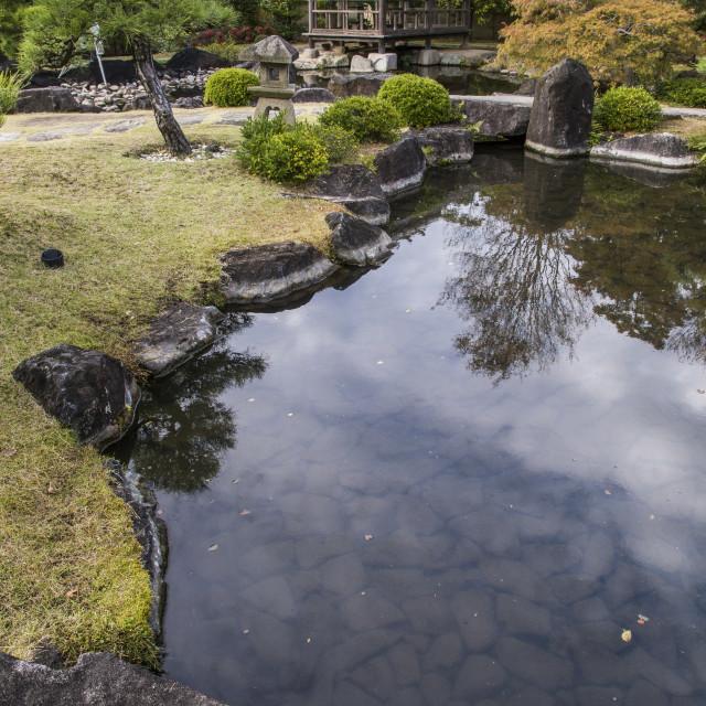 """Kokoen Garden"" stock image"