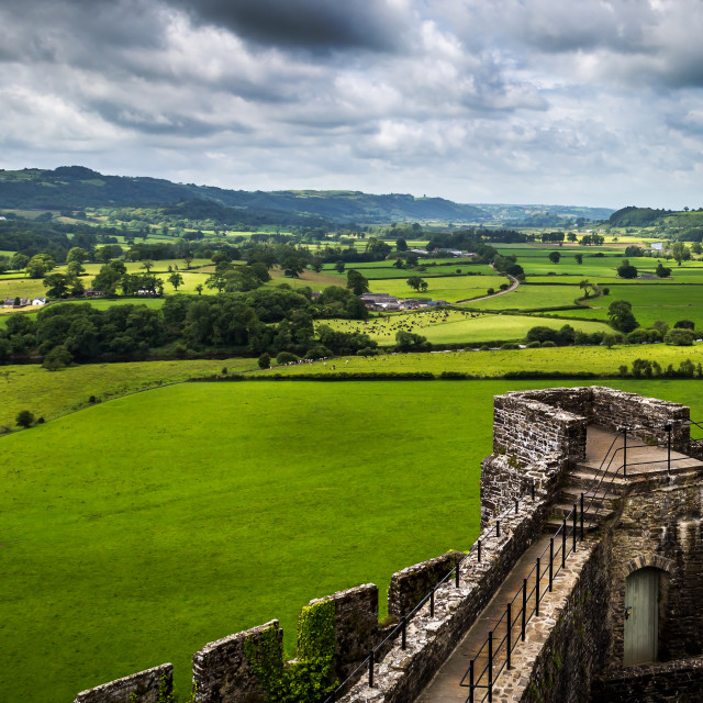 """Dinefwr castle"" stock image"