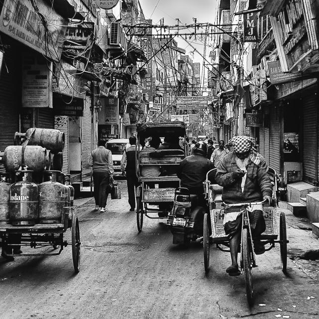 """In Kathmandu"" stock image"