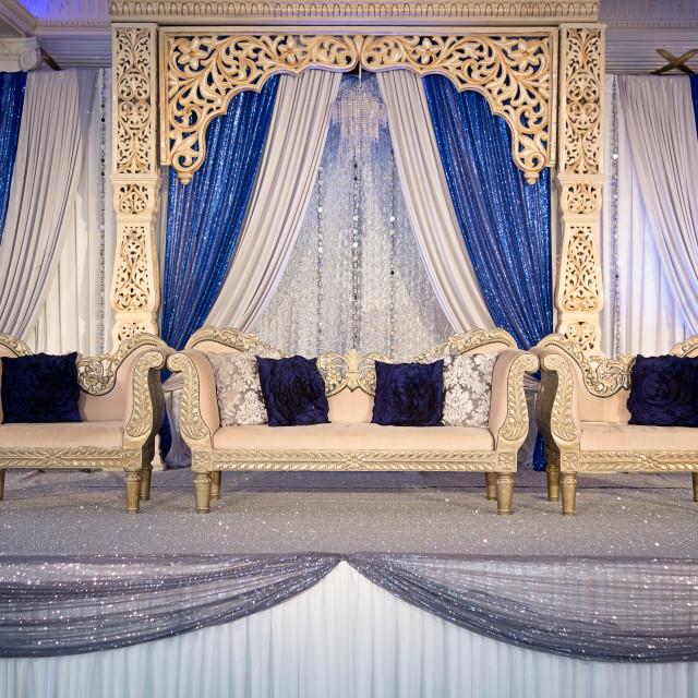 """Wedding stage"" stock image"