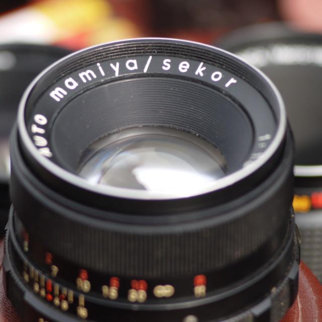 """Vintage Optics to Adapt"" stock image"