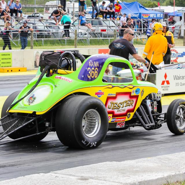 """colourful drag race car"" stock image"