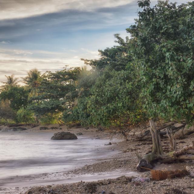 """Lampung Beach"" stock image"