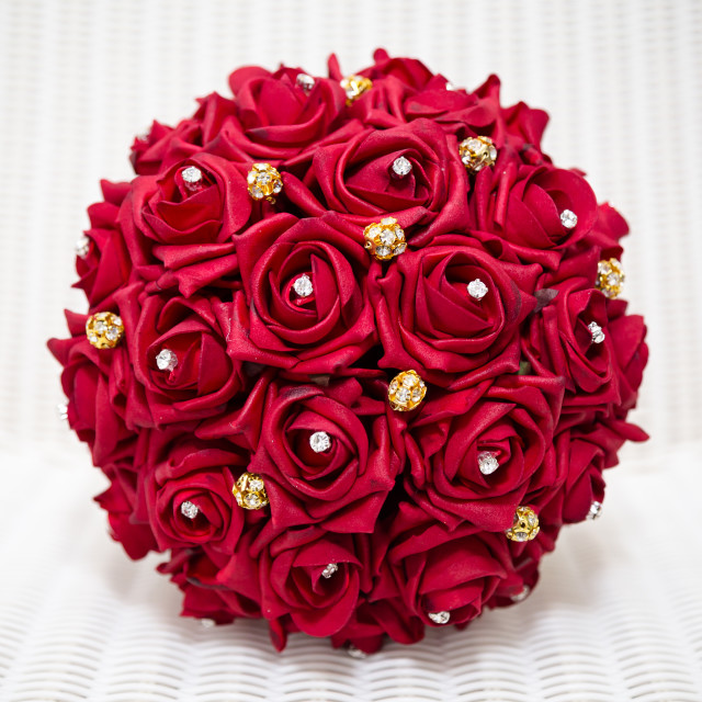 """""""Red bouquet"""" stock image"""