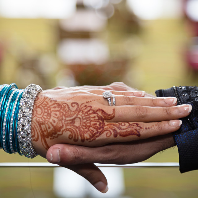 """Loving hands"" stock image"