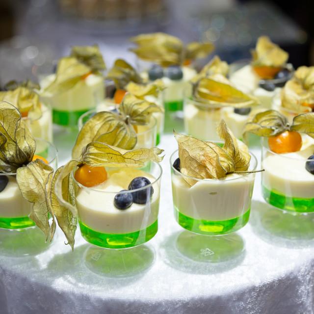 """Lime dessert"" stock image"