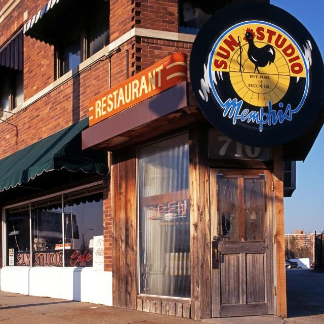 """Sun Studio, Memphis, Tennessee, United States of America"" stock image"