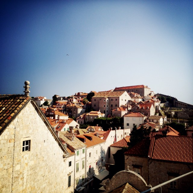 """Rooftops of Dubrovnik"" stock image"