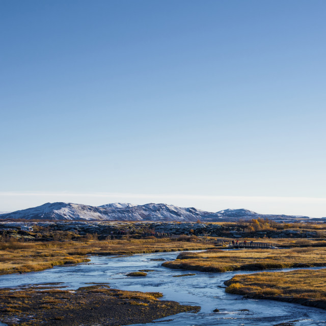 """""""The Natural Beauty of Iceland."""" stock image"""