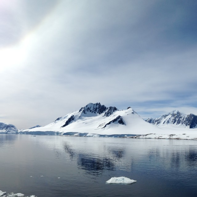 """Antarctic Panorama"" stock image"