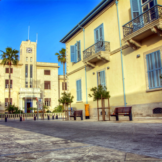 """Old Limassol"" stock image"