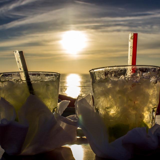 """Sunset Summer"" stock image"
